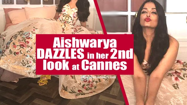 Cannes 2017 Day 3: Aishwarya Rai Bachchan dazzles in her 2nd look wearing a gorgeous colorful gown!