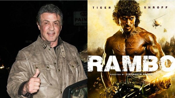 Rambo Remake: Tiger Shroff 'blessed' to step into Sylvester Stallone's shoes; 'Original' Rambo wishes luck to the makers!