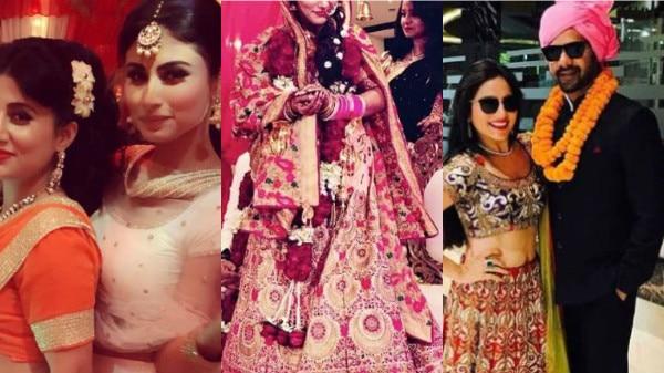 IN PICS: 'Kumkum Bhagya' actor Shabir Ahluwalia's brother marries 'Naagin' actress in a FAIRY TALE WEDDING!