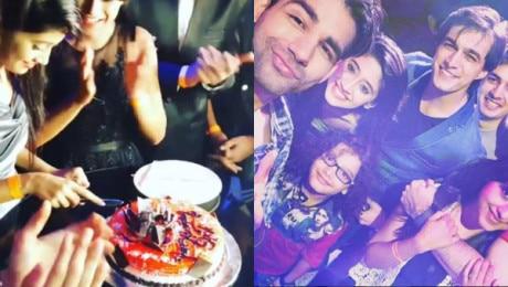 'Yeh Rishta Kya Kehlata Hai' actress Shivangi Joshi aka Naira's GRAND birthday celebration with beau Mohsin Khan & friends!