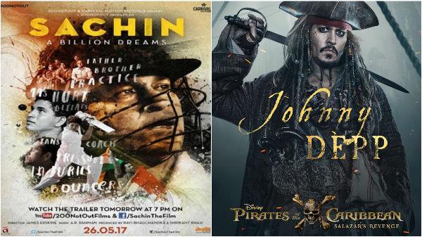 'Sachin A Billion Dreams', 'Pirates of the Caribbean Salazars Revenge' open on a good note!