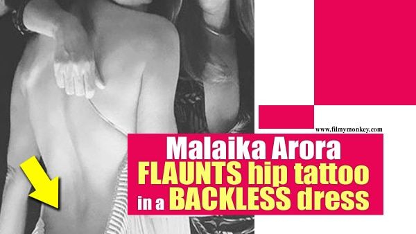 Malaika Arora goes BACKLESS revealing her HIP TATTOO; Looks SEXY posing with Shweta Bachchan!