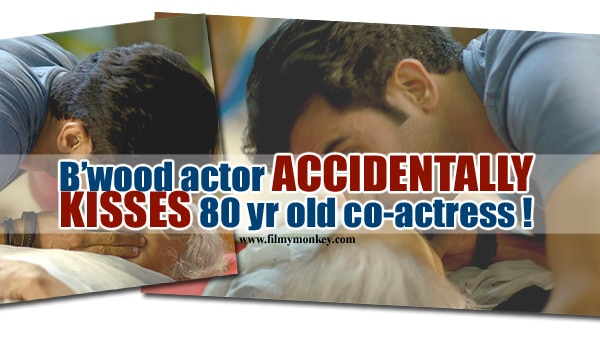 Behen Hogi Teri: Rajkummar Rao kisses 80 yr old co-actor Kamlesh Gill during CPR scene by mistake! See how she REACTED!