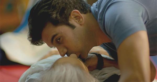 Rakummar Rao accidentally kisses his co-actress 80 yr old Kamlesh Gill during CPR sceen shoot of 'Behen Hogi Teri'