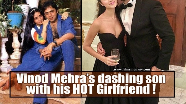 Vinod Mehra's son Rohan Mehra shares a HOT pic with his girlfriend Tara Sutaria!