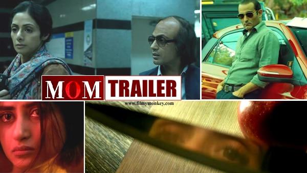 Mom Trailer: Sridevi, Nawazuddin & Akshaye bring a nail biting thriller leaving you intrigued!