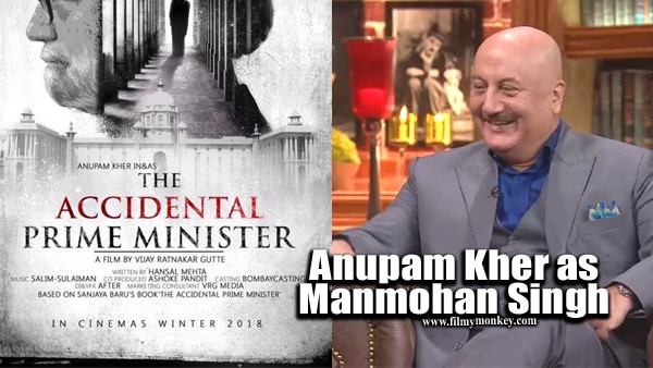 The Accidental Prime Minister: Anupam Kher nails the Manmohan Singh avatar in first look poster of film
