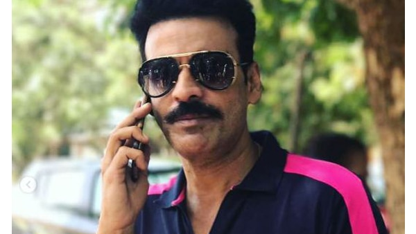 Manoj Bajpayee almost crashes into couple on bike in Mumbai, Averts accident with presence of mind!
