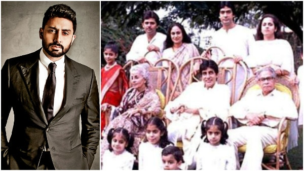 Here's Abhishek Bachchan's picture perfect childhood!