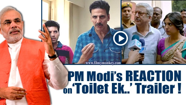 "Toilet Ek Prem Katha Trailer: PM Modi says ""Good effort to…"" on Akshay Kumar's tweet!"
