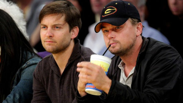 Leonardo DiCaprio's dinner date with Tobey Maguire