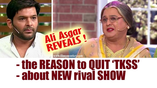 Ali Asgar REVEALS the actual reason of quitting Kapil Sharma's show & SPEAKS on new one with Ex co-stars