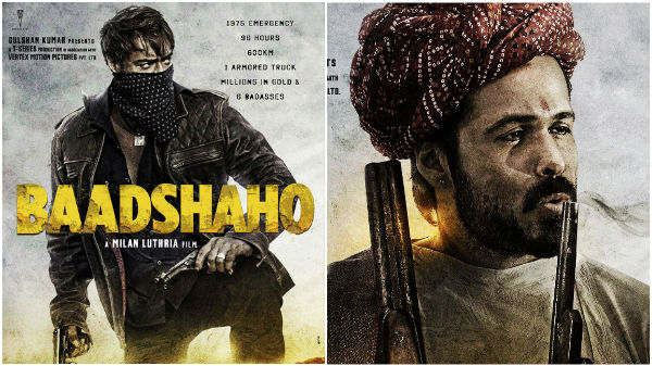 Baadhsaho: Ajay Devgn & Emraan Hashmi look totally 'badass' in the FIRST LOOK posters!