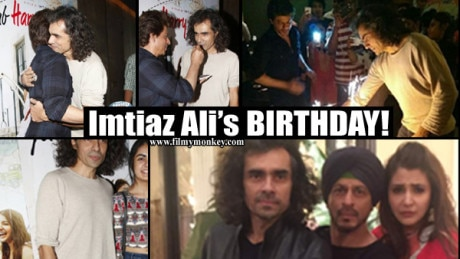 PICS: Imtiaz Ali with daughter Ida Ali at SRK's private preview of 'Jab Harry met Sejal' teaser celebrating director's B'day!