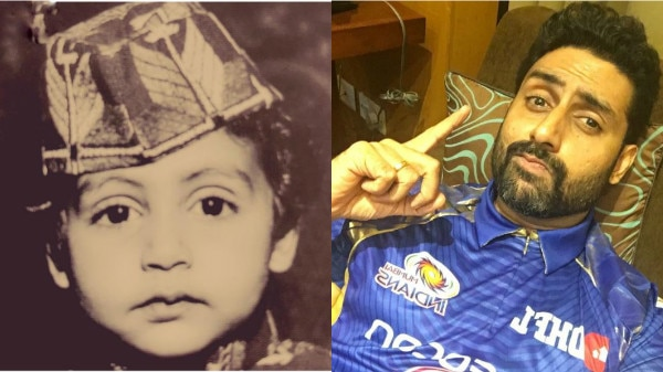 Abhishek Bachchan looks awwdorable in this throwback picture!