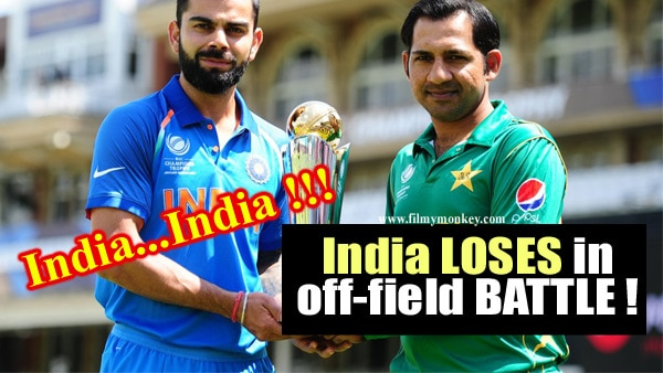 Ind Vs Pak CT 2017 Final: Pak WINNING over India in off-field BATTLE! Go WIN it for the TEAM!