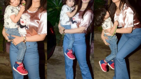 SEE PICS: Bollywood actress Ayesha Takia's LATEST PICS with her cute son prove that news about her getting BOTOX and lip fillers were FAKE!!!