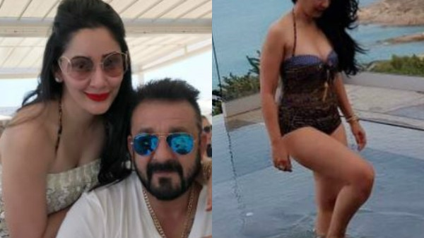 IN PICS: Sanjay Dutt's wife Maanayata looks SIZZLING HOT as she poses in a SWIMSUIT while chilling with hubby in France!