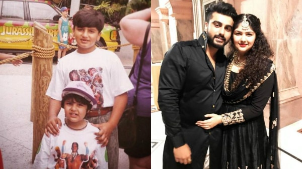 CHECK OUT: Arjun Kapoor shares an awwdorable throwback picture with sister!
