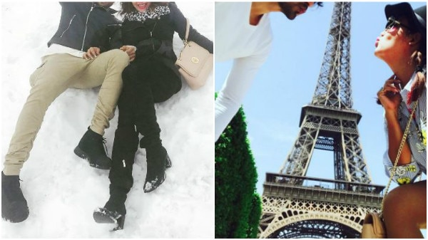 Latest pics from Gurmeet Choudhary & wife Debina Bonnerjee's ROMANTIC getaway in Europe!