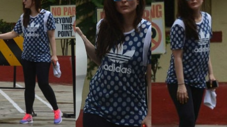 IN PICS: You can't miss Bollywood's yummy-mummy Kareena Kapoor Khan's SWAG outside her GYM!
