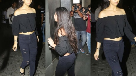 SEE PICS: Shah Rukh Khan's daughter Suhana STEALS THE SHOW at Salman's 'Tubelight' movie STAR-STUDDED screening!