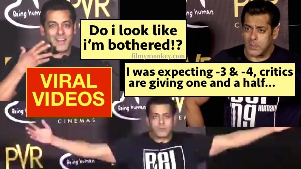 Tubelight: VIRAL VIDEOS of Salman Khan REACTING to audience reaction & critics' views on film is winning fans' hearts!