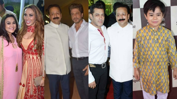 SEE PICS: From Salman, Shah Rukh Khan to Preity Zinta, Bollywood & TV CELEBS attend Baba Siddique's STAR-STUDDED Iftar party!