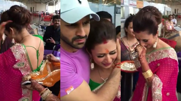 WATCH: Ahead of 'Nach Baliye 8' GRAND FINALE Divyanka Tripathi shares the UNSEEN bidaai video after her marriage!