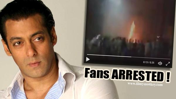 Tubelight: Salman Khan's fans who burst crackers inside movie hall, arrested!