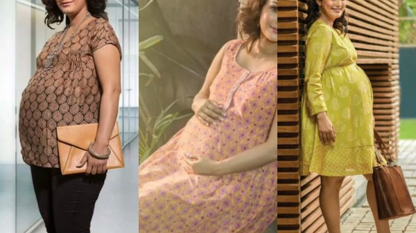CHECK OUT: New mommy of TV Nisha Rawal shares BEAUTIFUL PICS from her MATERNITY SHOOT flaunting BABY BUMP!