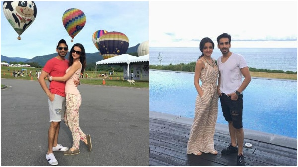 'Nach Baliye 8' couple Sanaya Irani & hubby Mohit Sehgal having a great time in Taiwan!