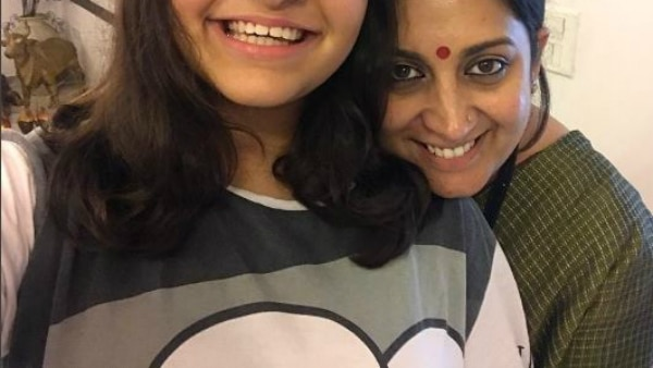 After son Zohr, Smriti Irani shares an adorable pic of daughter Zoish Irani on social media!