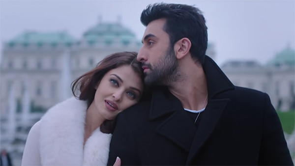 Aishwarya with Ranbir in 'Ae Dil Hai Mushkil'