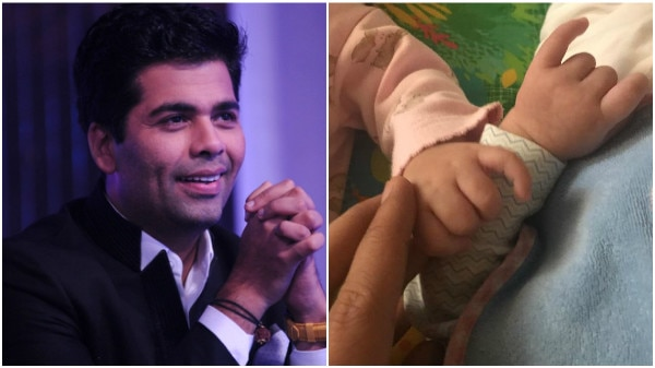 Karan Johar FINALLY shares FIRST PIC of twin babies Yash & Roohi & its ADORABLE!