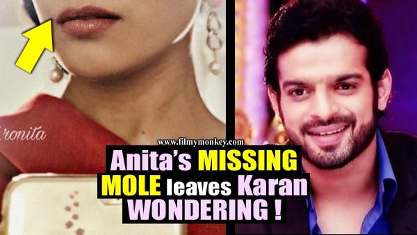 Anita Hassanandani's missing mole leaves 'Yeh Hai Mohabbatein' co-actor Karan Patel in shock!