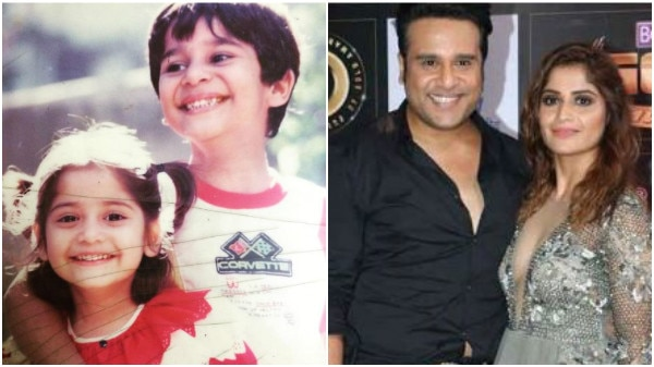 Krushna Abhishek & sister Arti Singh's CUTE childhood pic is just TOO ENDEARING!