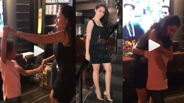 Sanjay Dutt's wife Maanayata celebrates her birthday by dancing on Despacito with son Shahraan!