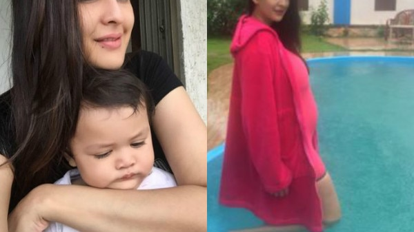 TV actress Chahatt Khanna who gave birth to baby girl last year is PREGNANT again; flaunts BABY BUMP!