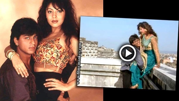 SRK mentions the 'Baazigar' scene when asked if wife Gauri gets insecure seeing him romance onscreen! See WHY?