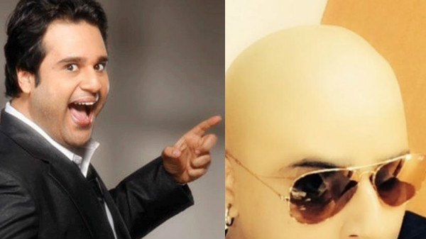 OMG! Comedian Krushna Abhishek goes BALD for 'The Drama Company'!