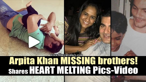 Raksha Bandhan 2017: Arpita Khan Sharma missing brothers Salman, Arbaaz & Sohail; Shares adorable Pics-Video on Rakhi!