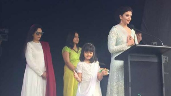 Aishwarya becomes 1st woman to raise Indian flag at IFFM 2017!