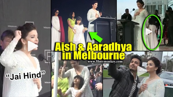 IFFM 2017: Aaradhya Bachchan RUNS AROUND as Mom Aishwarya Rai delivers speech at Melbourne! Adorable PICS & VIDEOS!