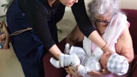 IN PICS: TV actress Nisha Rawal's NEWBORN son meets his mom's GRANDMOTHER!