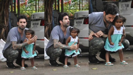SEE PICS: Sunny Leone's daughter Nisha Kaur Weber looks ADORABLE as she gets clicked with her DAD Daniel Weber!