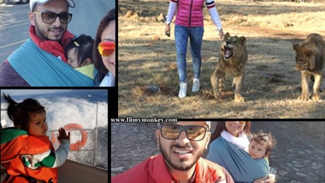 PICS: Dimpy Ganguly celebrates Birthday in South Africa with daughter Reanna & hubby Rohit Roy!