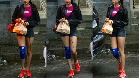 SEE PICS: Sridevi's gorgeous daughter Jhanvi Kapoor stuns in her CHIC avatar as she gets CLICKED post lunch date!