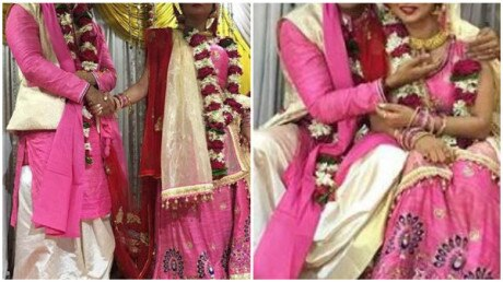 Here are the wedding pics of TV actors Ekta Tiwari & Sushant Kandya!