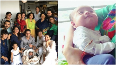 Mommy Nisha Rawal shares throwback pics of Naamkaran ceremony of newborn baby Kavish Mehra!
